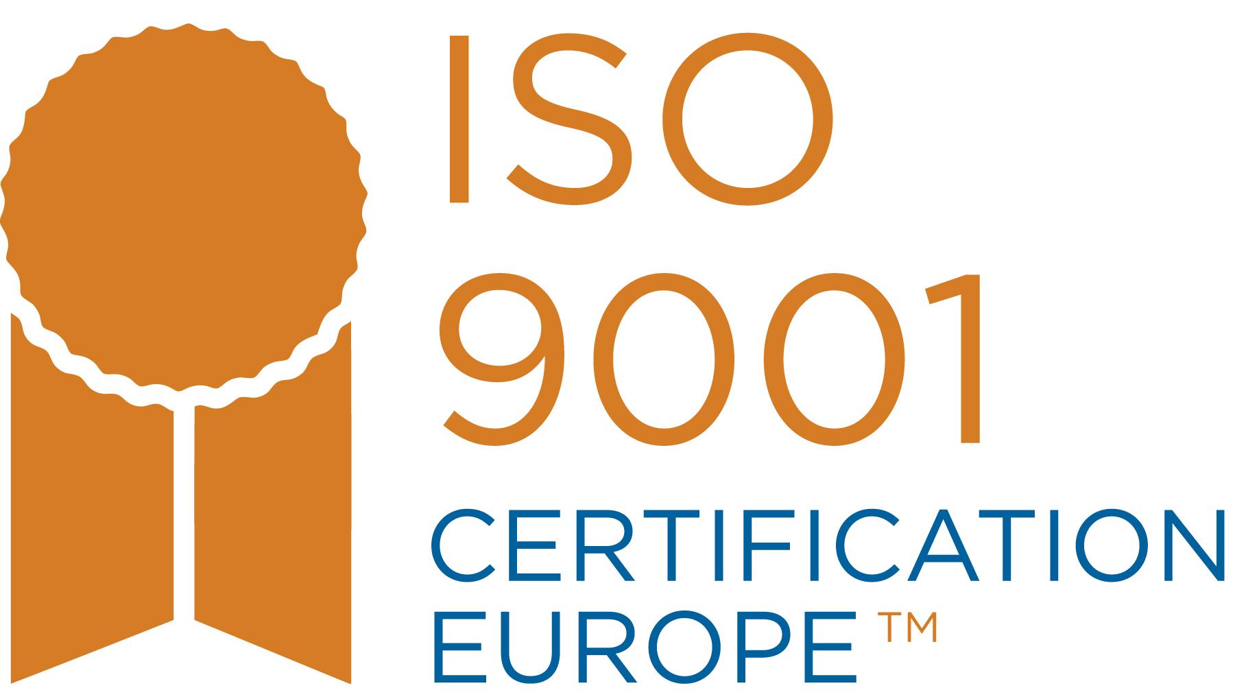 ISO9001:2015 取得済